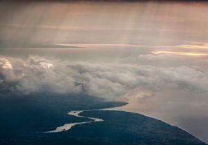 Congo aerial terrain