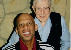 Kareem Abdul-Jabbar and John Wooden