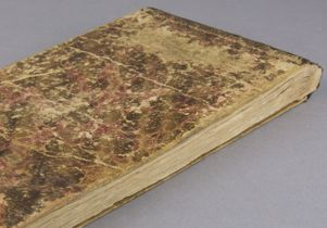 Sketchbook back and fore edge