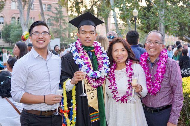 Bryan Lam and family