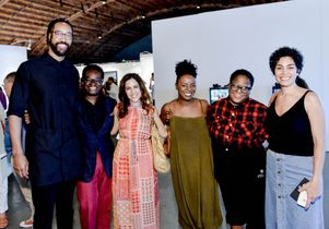 Click to open the large image: UCLA Department of Art graduate students