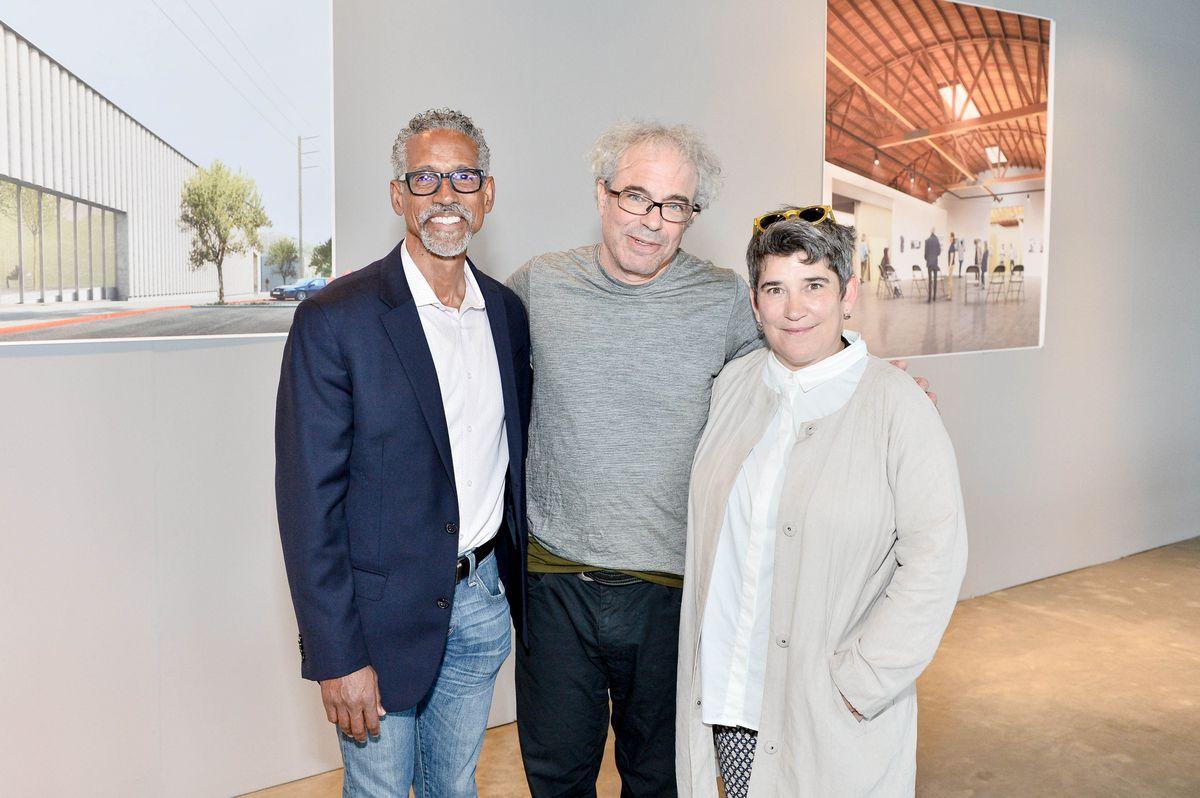 David Roussève, Hirsch Perlman and Kristy Edmunds