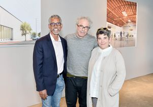 Click to open the large image: David Roussève, Hirsch Perlman and Kristy Edmunds