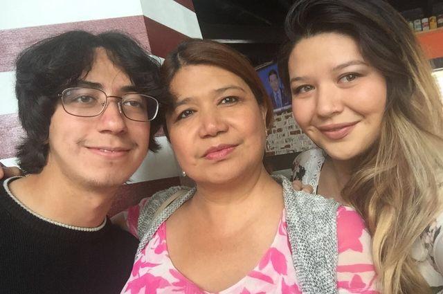 Adam, Gabriela and Danielle Abraham
