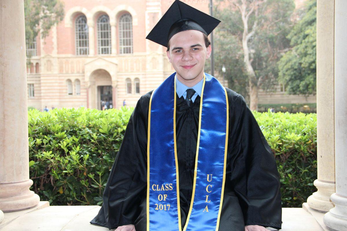 UCLA graduate Luke Vellotti
