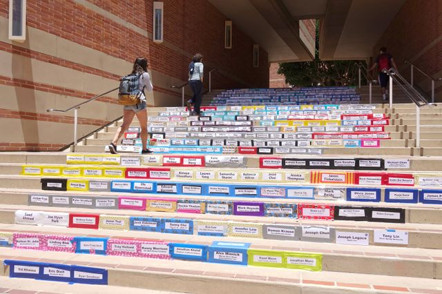 Stairway of the graduates
