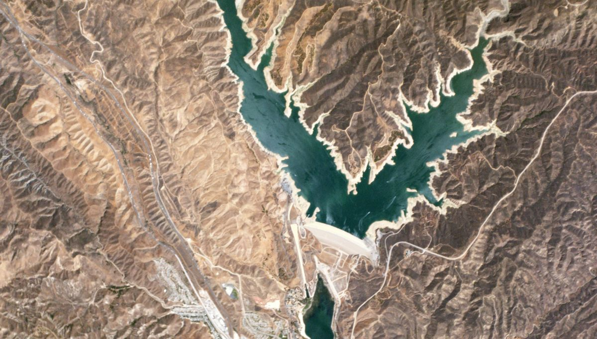 Castaic reservoir