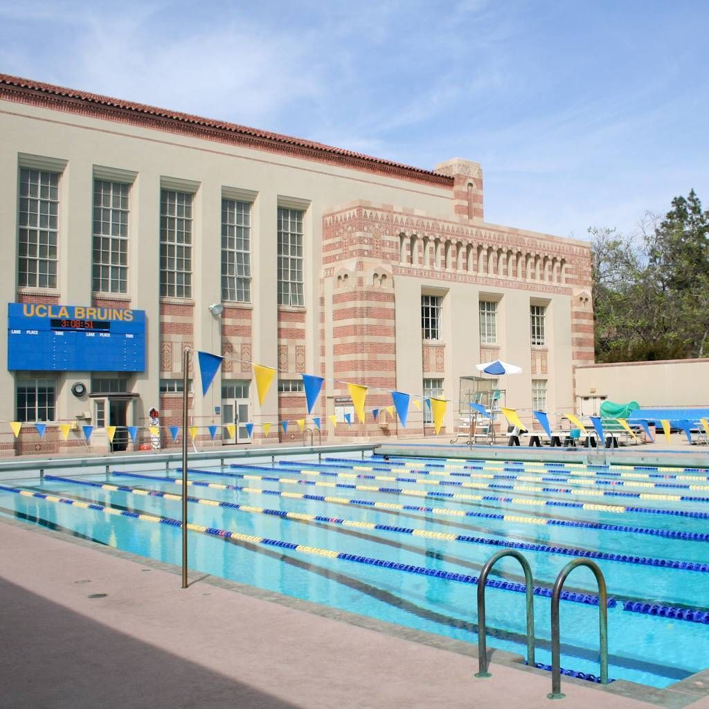 UCLA North Pool at Kaufmann Hall