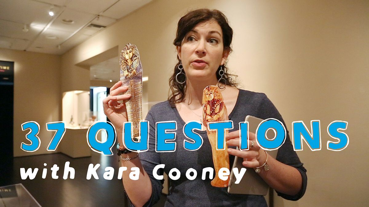 37 questions with Kara Cooney