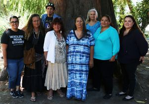 Click to open the large image: Teaching the Tongva group