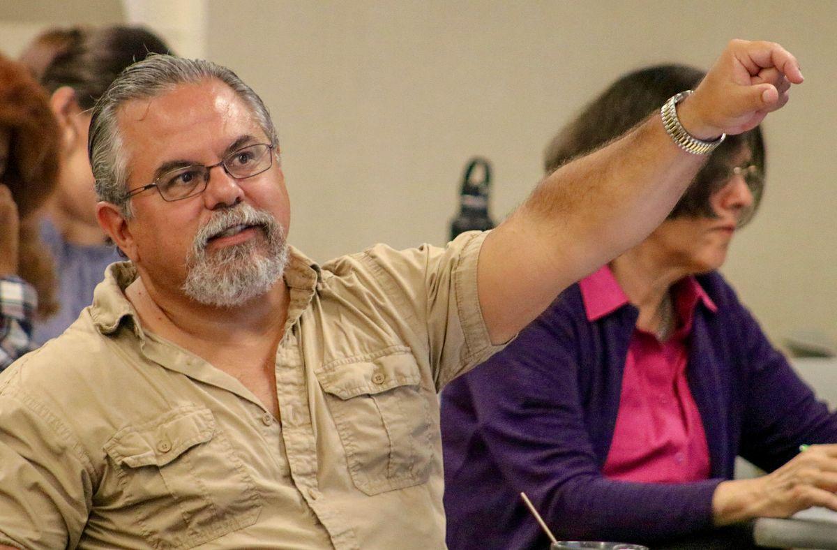 Gary Segura at PRIEC conference