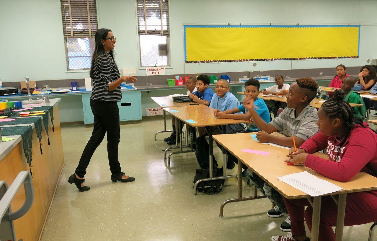 Horace Mann classroom