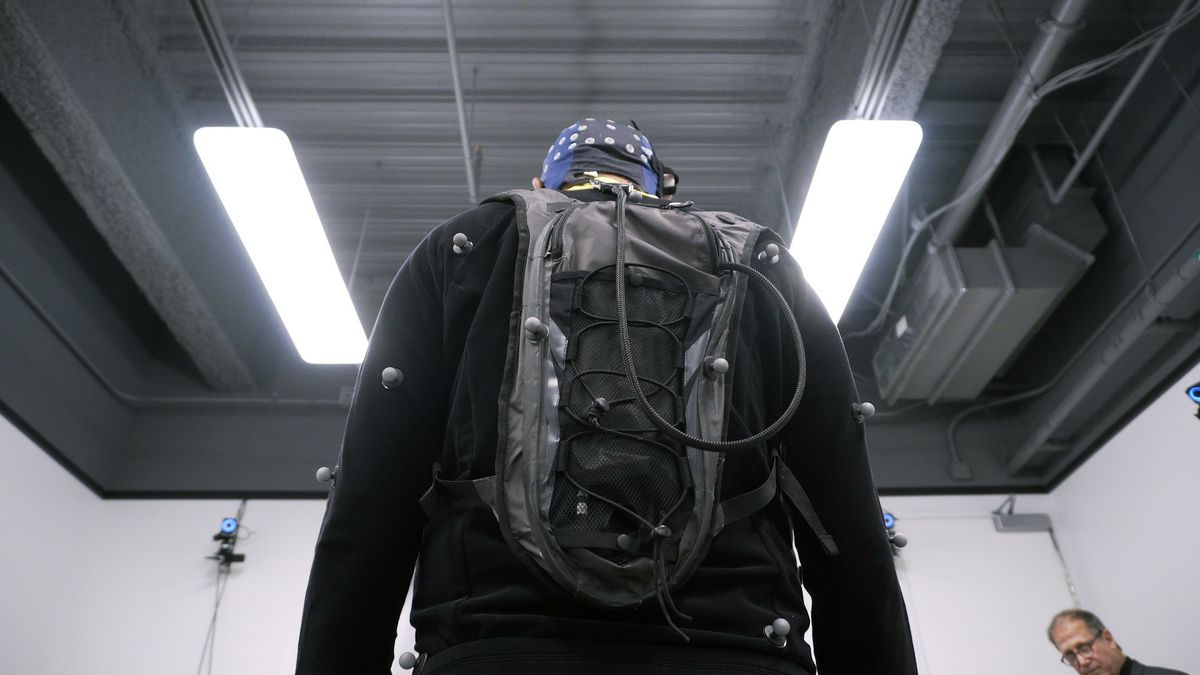 Virtual reality backpack