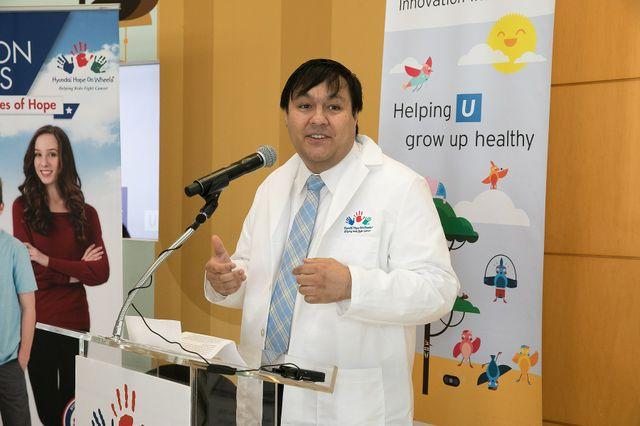 Dr. Steven Jonas - Hyundai Hope On Wheels