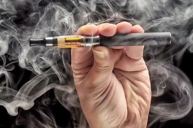 E-cigarette smoking