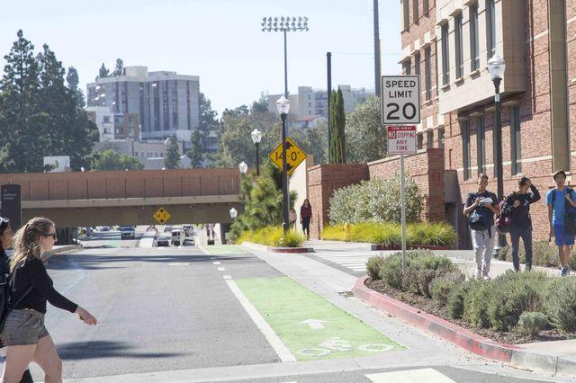 UCLA 20 mph limit