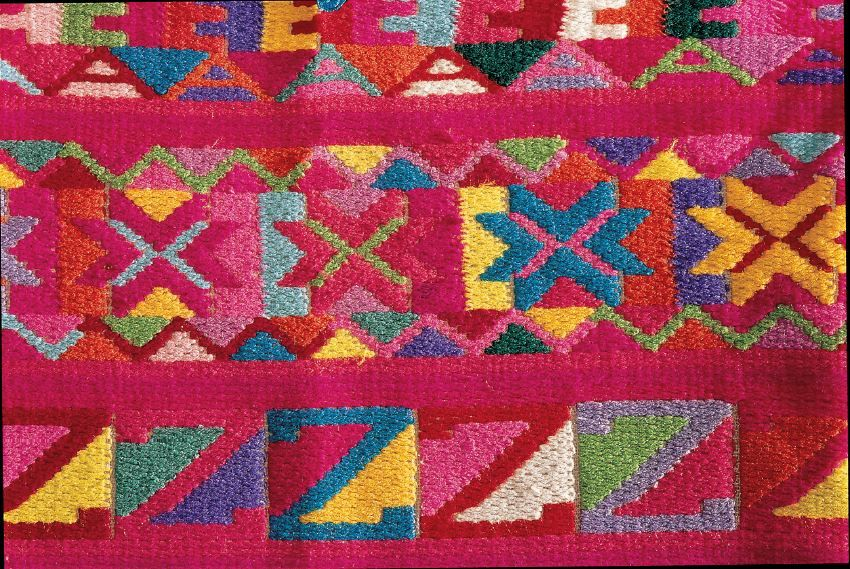 """Weaving Generations Together"" textile"