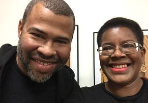Jordan Peele and Tananarive Due