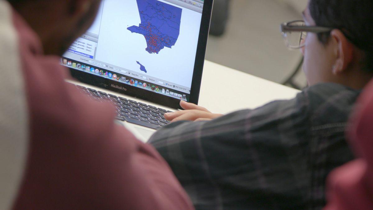 Million Dollar Hoods mapping