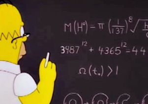 Math in The Simpsons