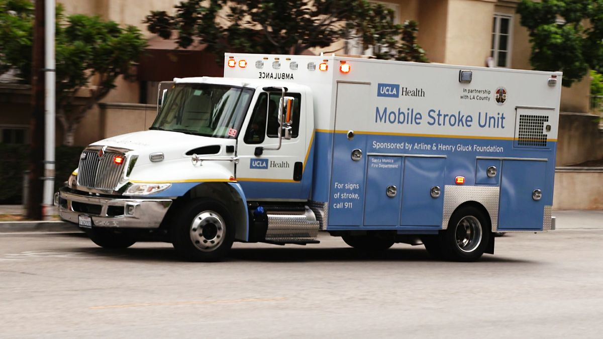 UCLA Health's Mobile Stroke Unit
