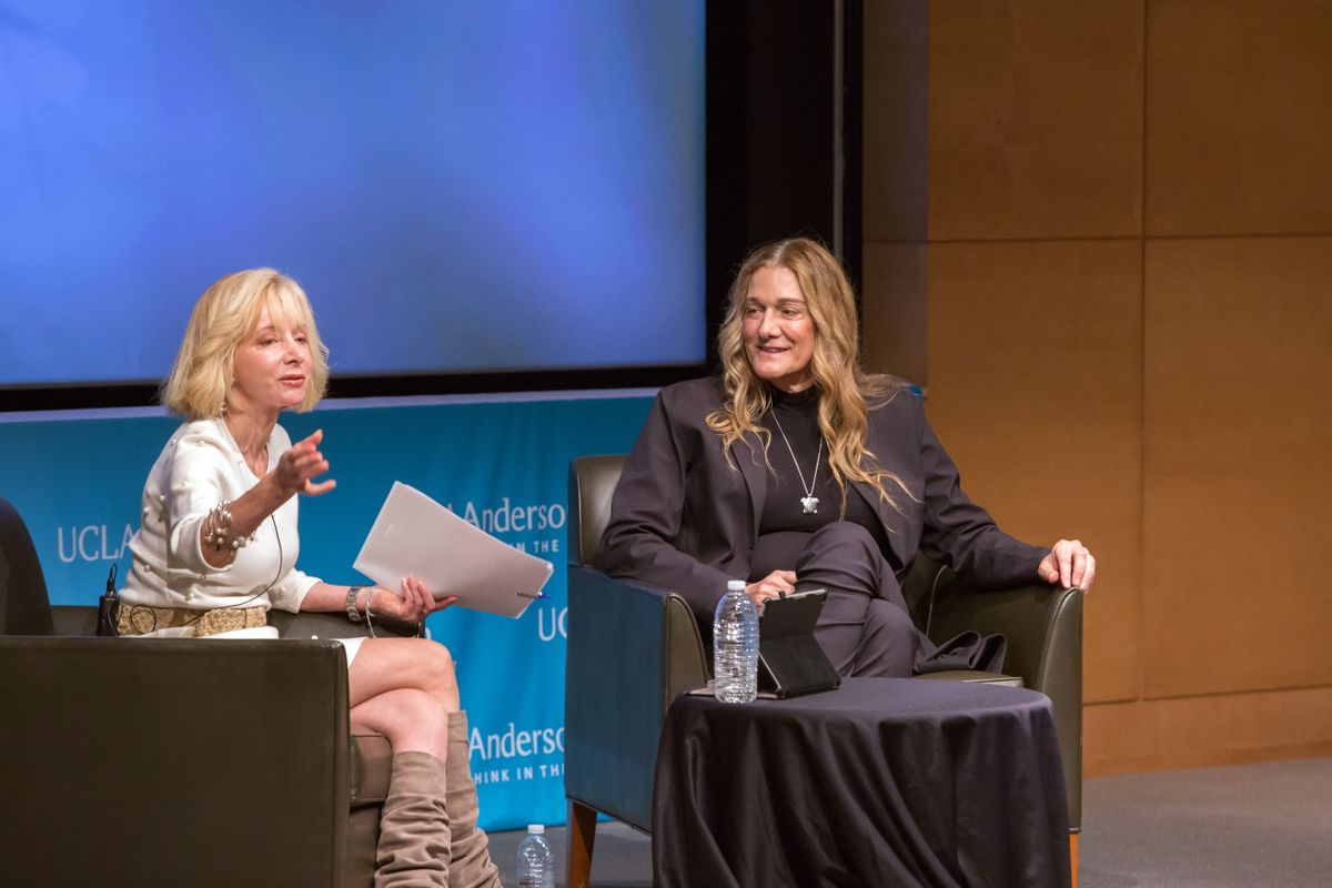 Judy Olian and Martine Rothblatt
