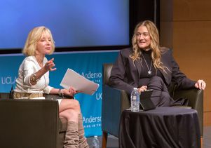 Click to open the large image: Judy Olian and Martine Rothblatt