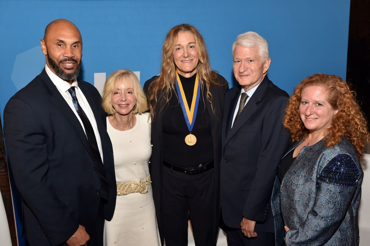 Martine Rothblatt and UCLA leadership