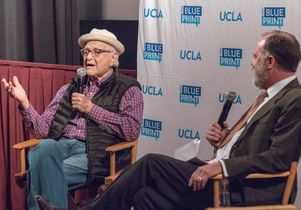 Norman Lear and Jim Newton