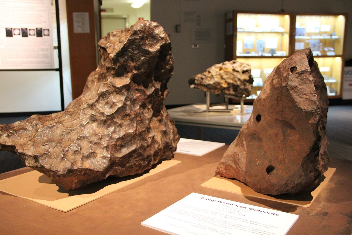 Two meteorites at UCLA