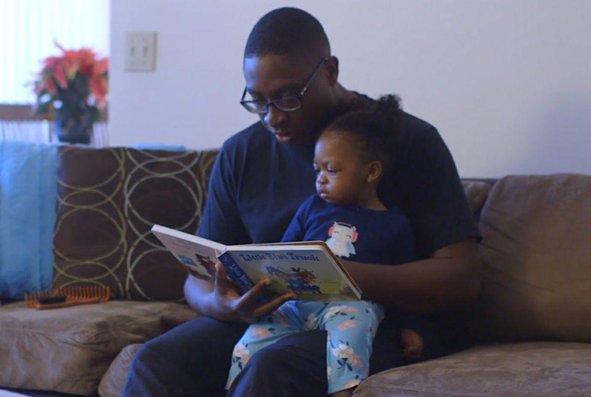 Dr. Amubiyea with daughter