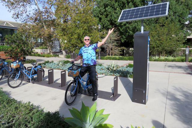 Reveling in the green power of the bikeshare program