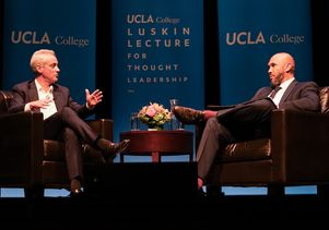 Rahm Emanuel and Darnell Hunt Luskin Lecture