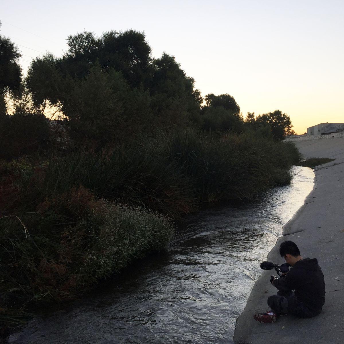 LA River filming