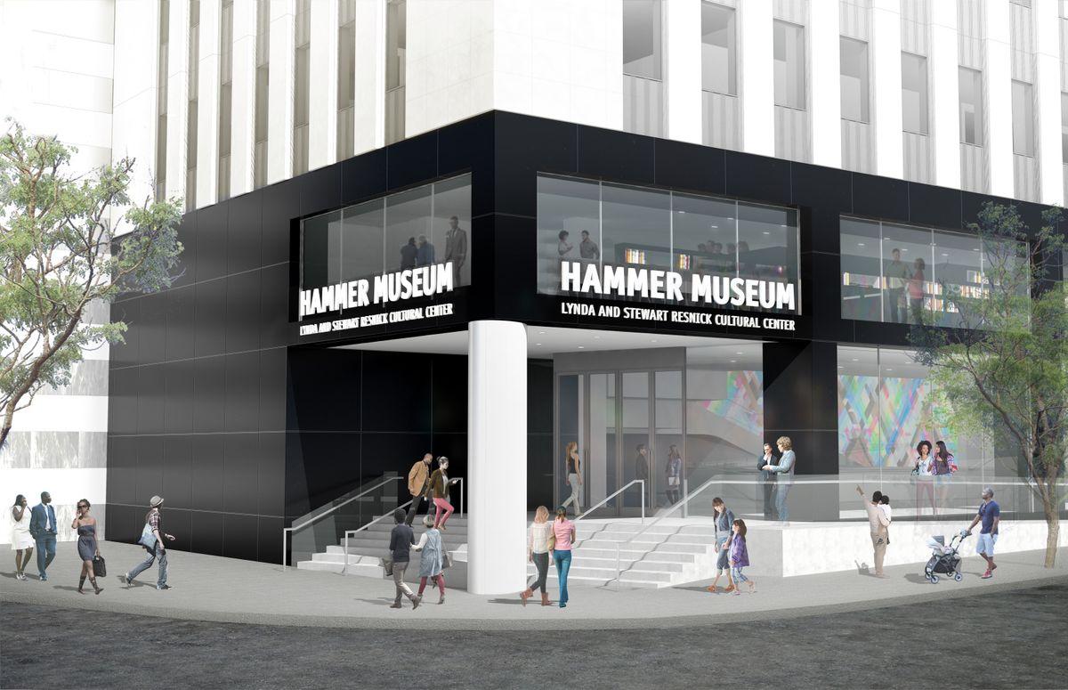 Hammer corner entrance rendering