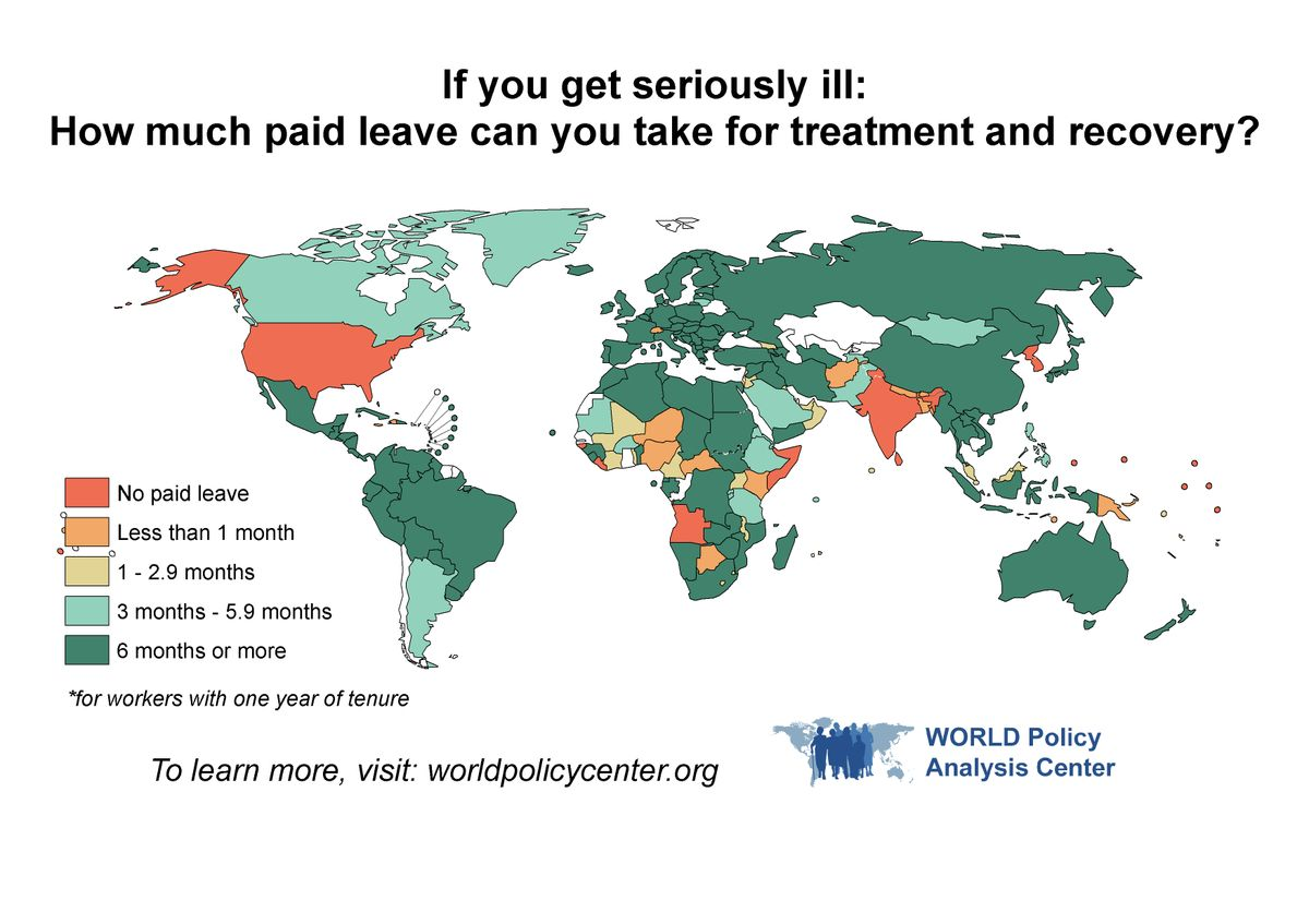 Paid leave map