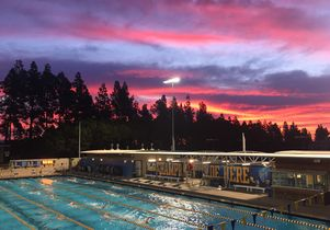 Sunrise over Spieker