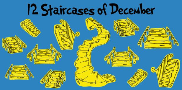 12 Staircases of December