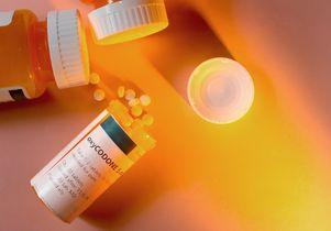 Oxycodone bottle