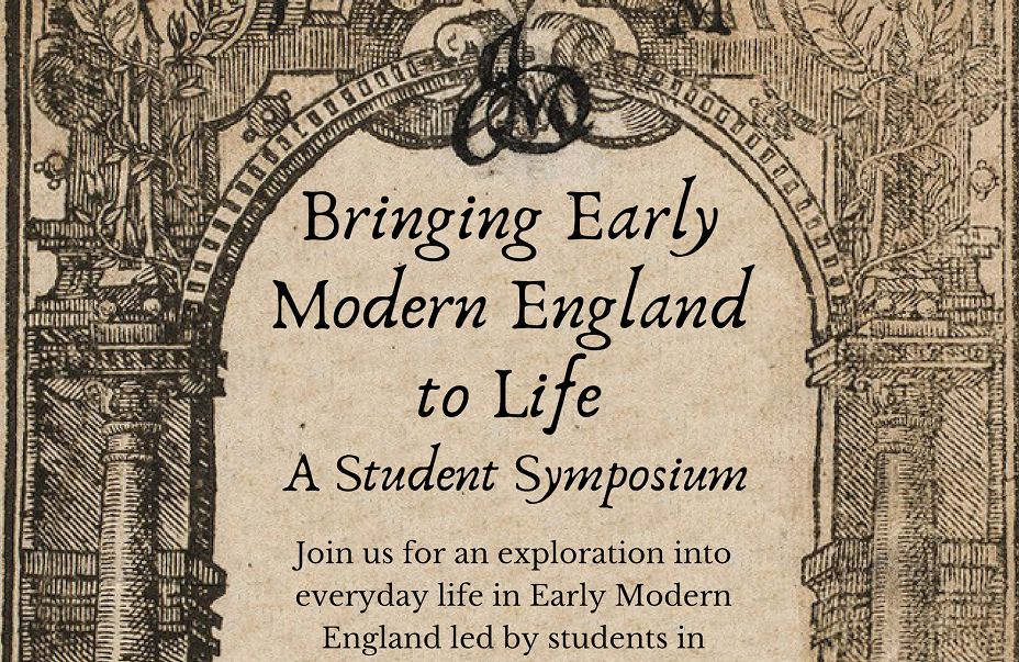 Bringing early modern England to life