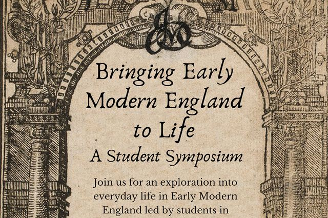 Dec 6 Learn About Everyday Life In Early Modern England