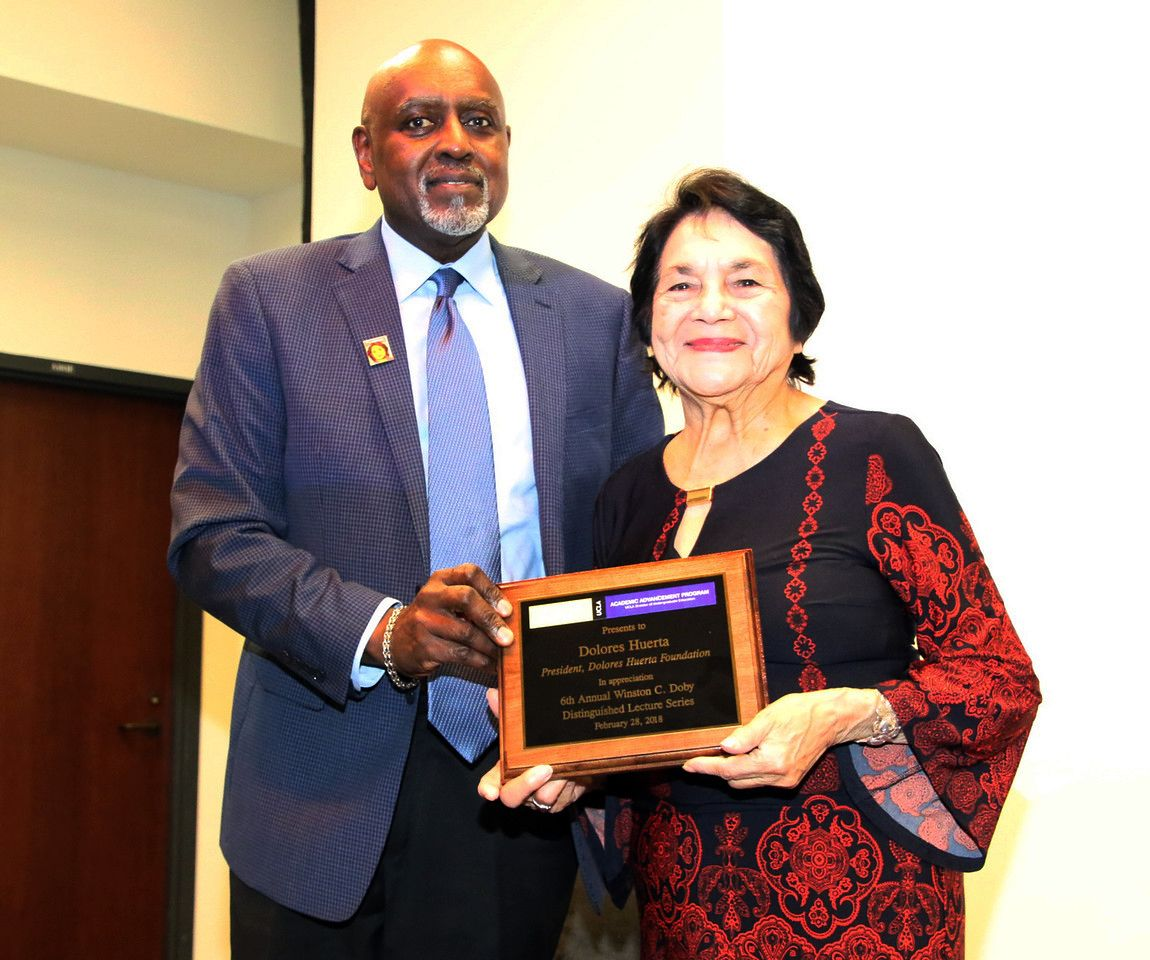 Charles Alexander and Dolores Huerta