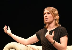 Chelsea Manning speaks at UCLA
