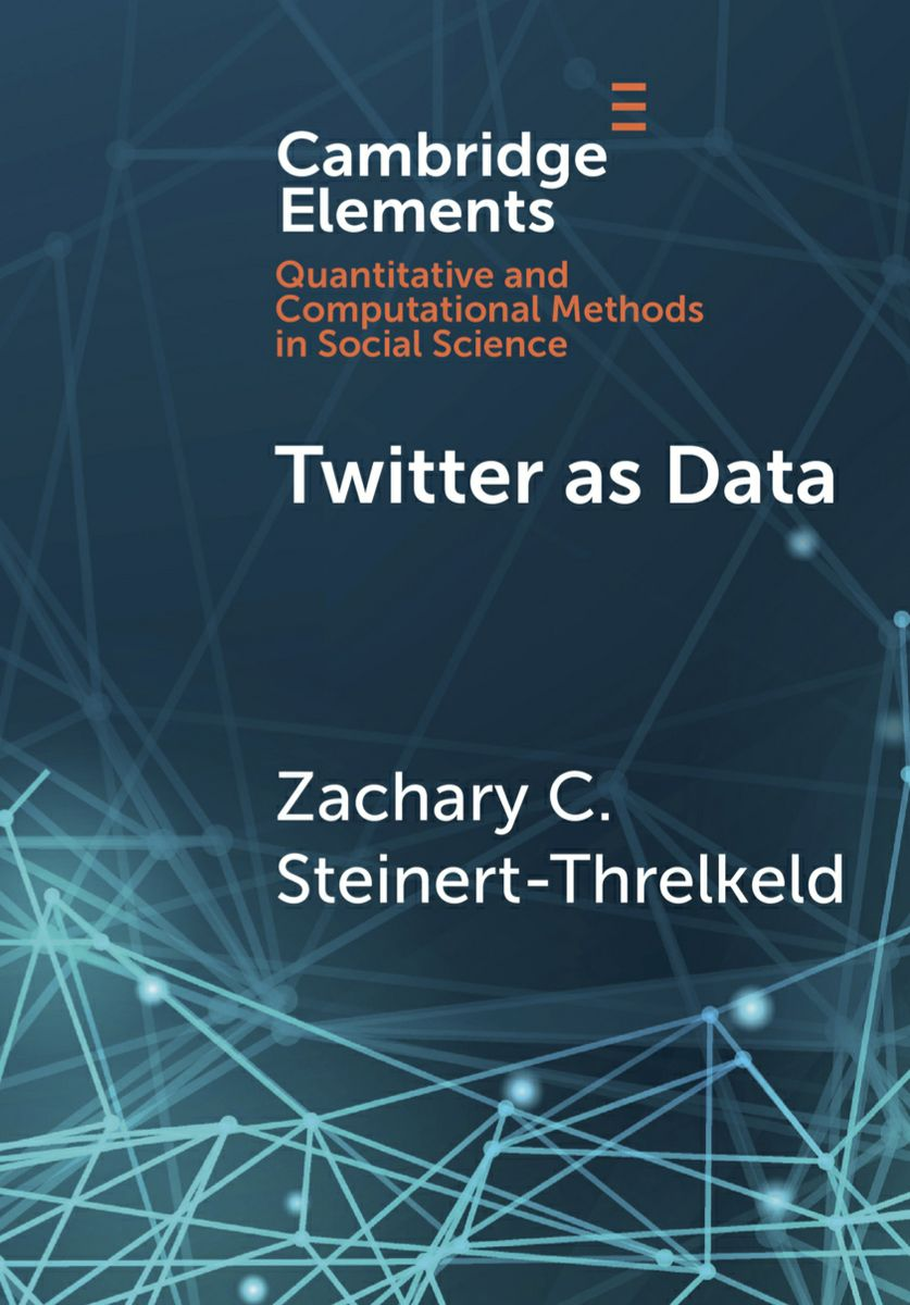 Twitter as Data BookCover