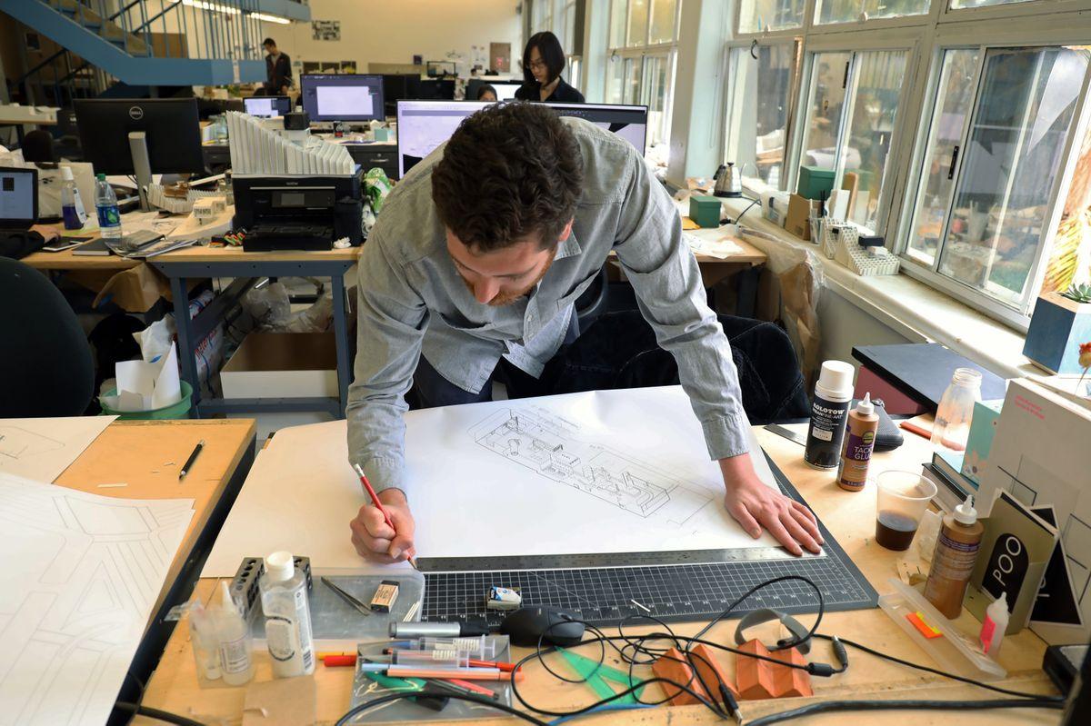 UCLA architecture student