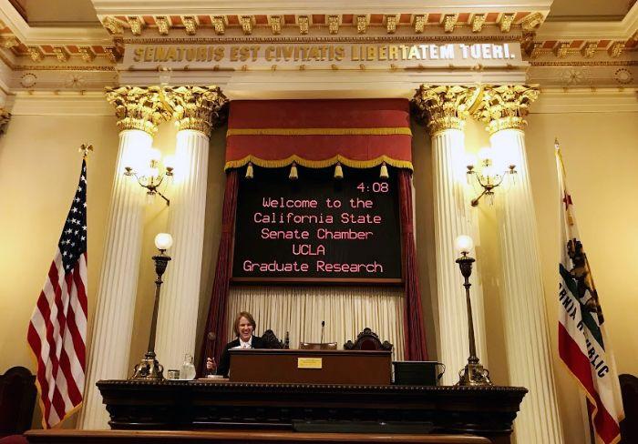 California state senate chambers