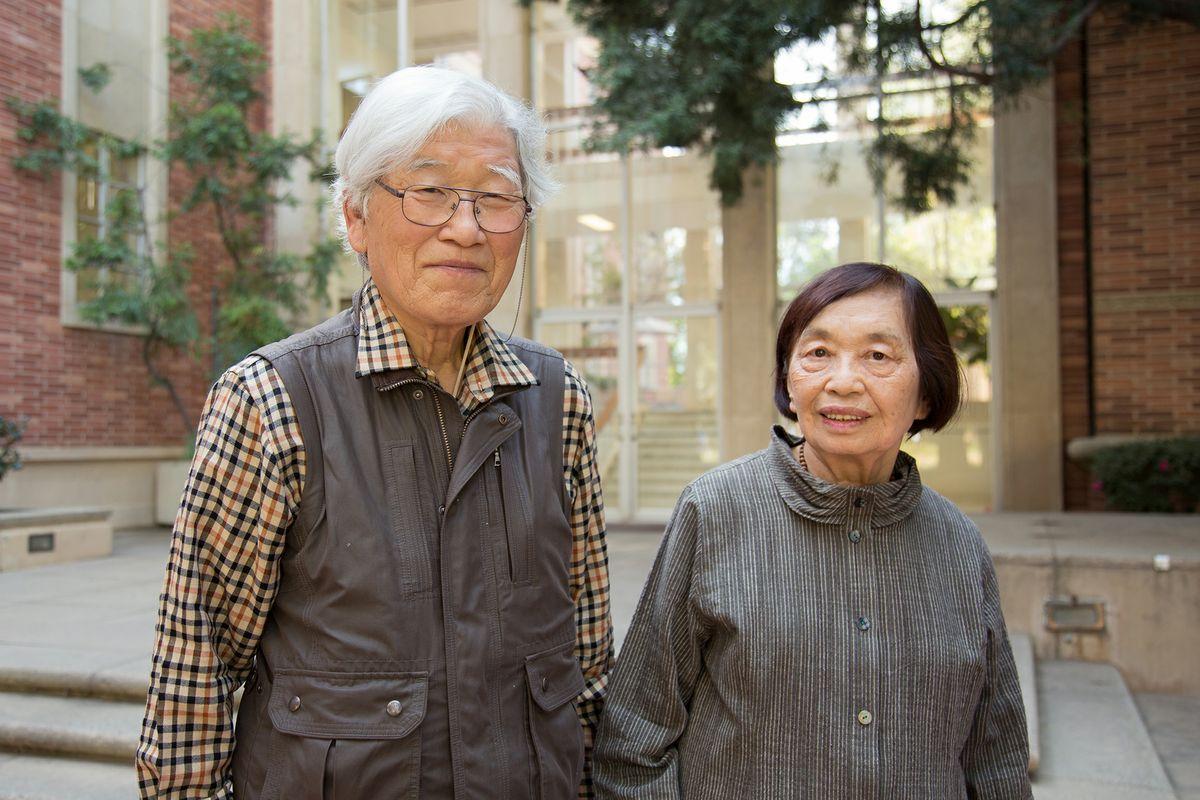 Masamichi and Kyoko Takesaki