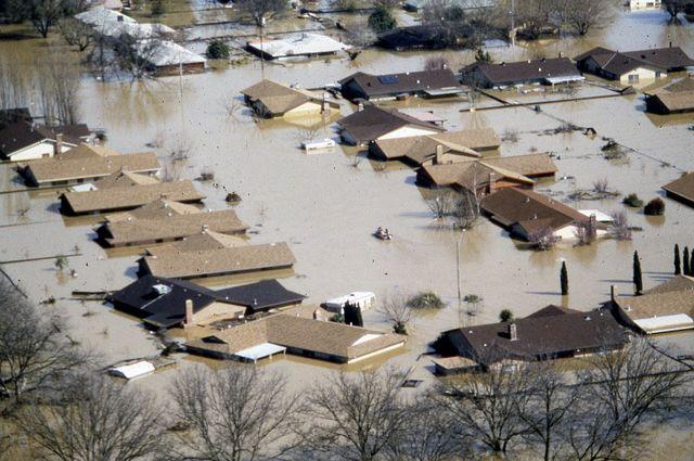 Flooding in Linda California
