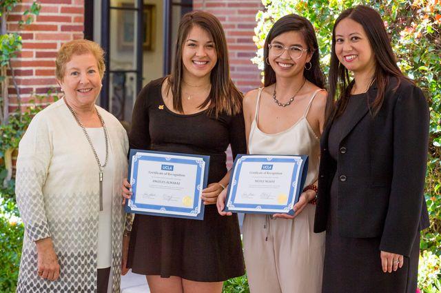 Womens advocacy reception winners