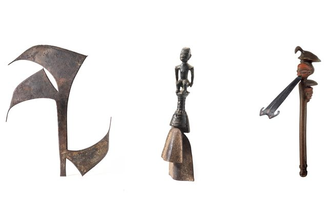 Striking Iron pieces